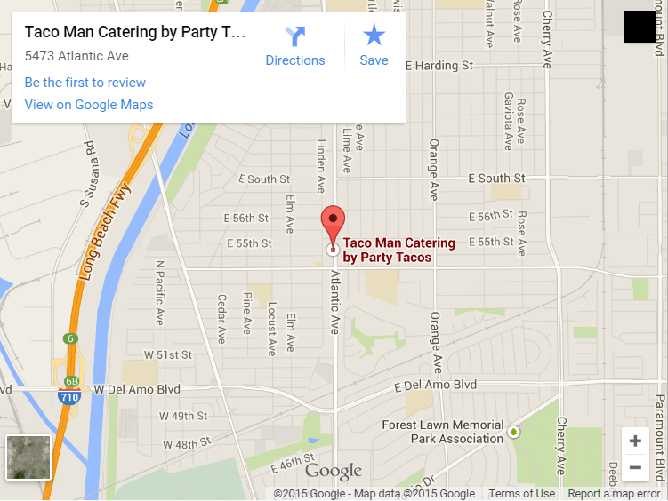 party tacos map